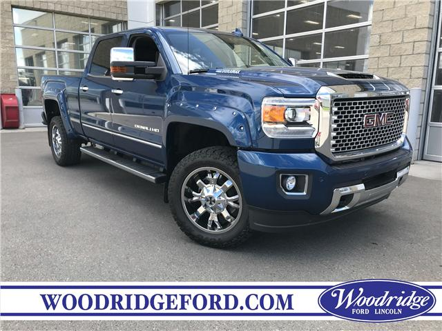 2017 GMC Sierra 2500HD Denali (Stk: K-2244A) in Calgary - Image 1 of 22