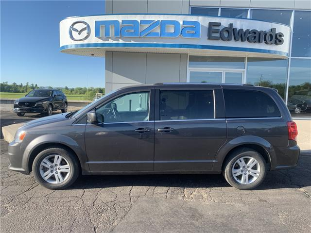 2018 Dodge Grand Caravan Crew (Stk: 21830) in Pembroke - Image 1 of 10