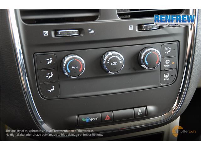 2019 Dodge Grand Caravan CVP/SXT (Stk: K253) in Renfrew - Image 17 of 20