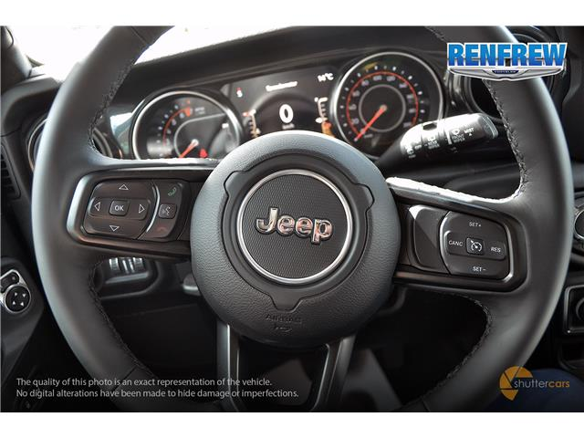 2019 Jeep Wrangler Unlimited Sport (Stk: K256) in Renfrew - Image 11 of 20