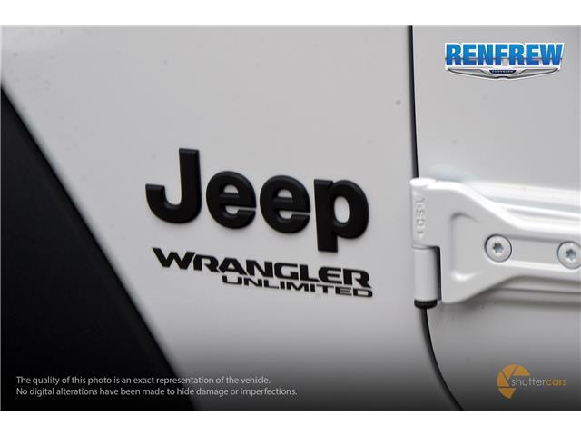 2019 Jeep Wrangler Unlimited Sport (Stk: K260) in Renfrew - Image 6 of 20