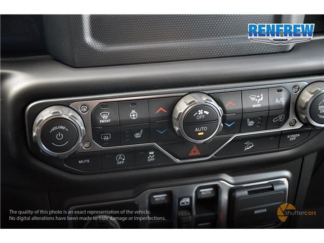2019 Jeep Wrangler Unlimited Sport (Stk: K260) in Renfrew - Image 14 of 20