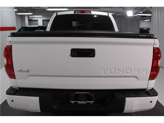 2018 Toyota Tundra Platinum 5.7L V8 (Stk: 298390S) in Markham - Image 22 of 26