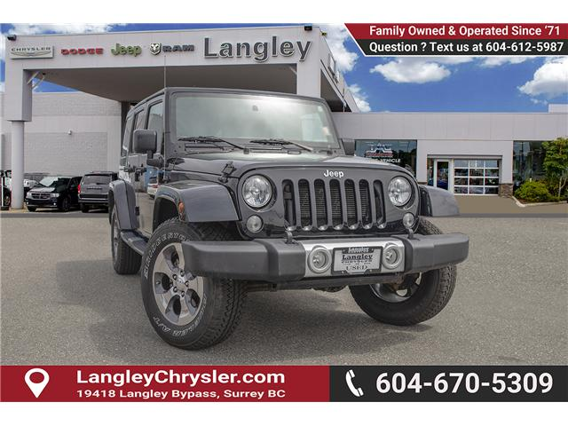 2015 Jeep Wrangler Unlimited Sahara (Stk: K566018A) in Surrey - Image 1 of 24