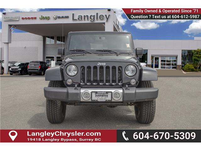 2015 Jeep Wrangler Unlimited Sahara (Stk: K566018A) in Surrey - Image 2 of 24