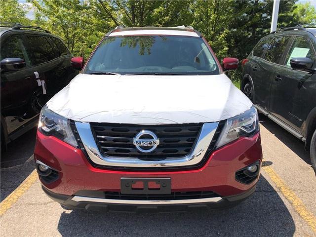 2019 Nissan Pathfinder Platinum (Stk: Y4029) in Burlington - Image 2 of 5