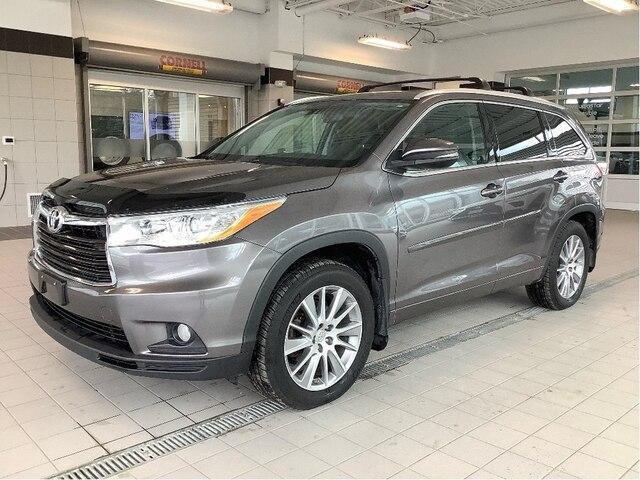 2015 Toyota Highlander XLE (Stk: 21467A) in Kingston - Image 1 of 30