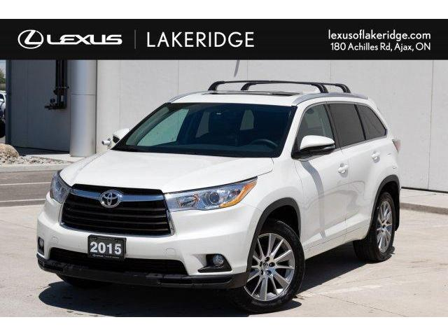 2015 Toyota Highlander XLE (Stk: P0467) in Toronto - Image 1 of 26