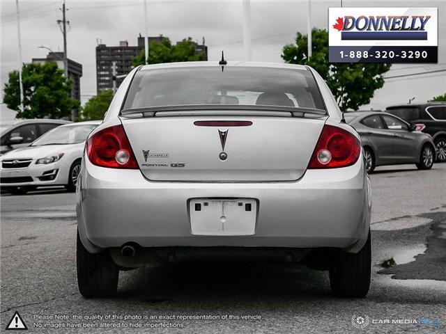 2009 Pontiac G5 SE (Stk: PBWDR2217A) in Ottawa - Image 5 of 27