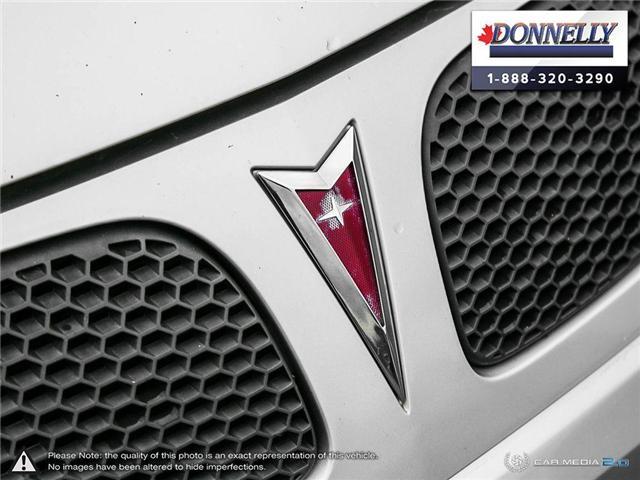 2009 Pontiac G5 SE (Stk: PBWDR2217A) in Ottawa - Image 8 of 27