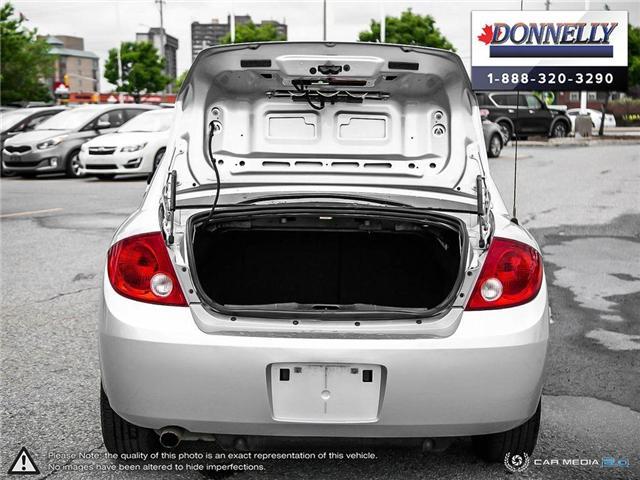 2009 Pontiac G5 SE (Stk: PBWDR2217A) in Ottawa - Image 10 of 27