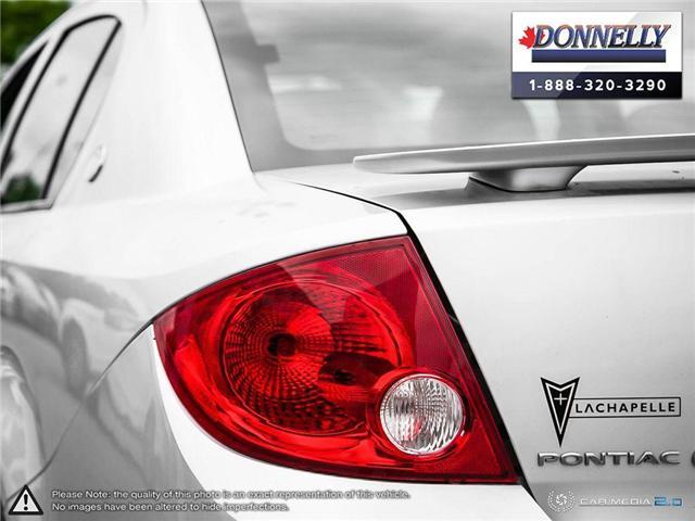 2009 Pontiac G5 SE (Stk: PBWDR2217A) in Ottawa - Image 11 of 27