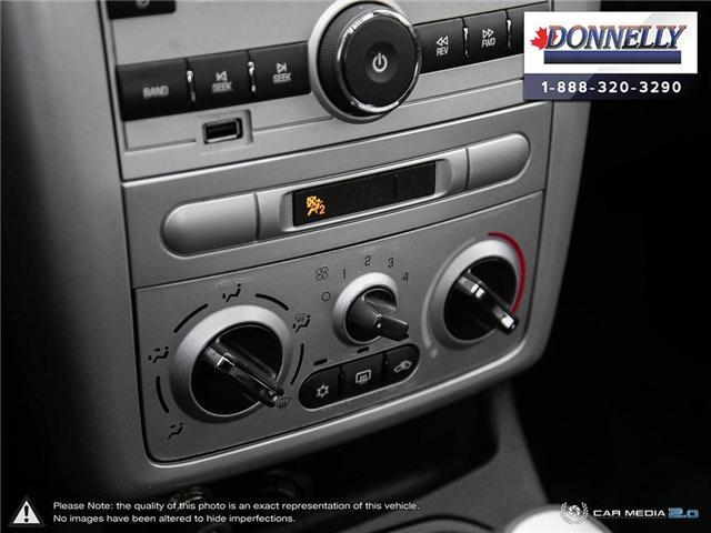 2009 Pontiac G5 SE (Stk: PBWDR2217A) in Ottawa - Image 19 of 27