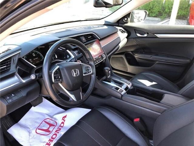 2017 Honda Civic Touring (Stk: K1112A) in Georgetown - Image 9 of 10