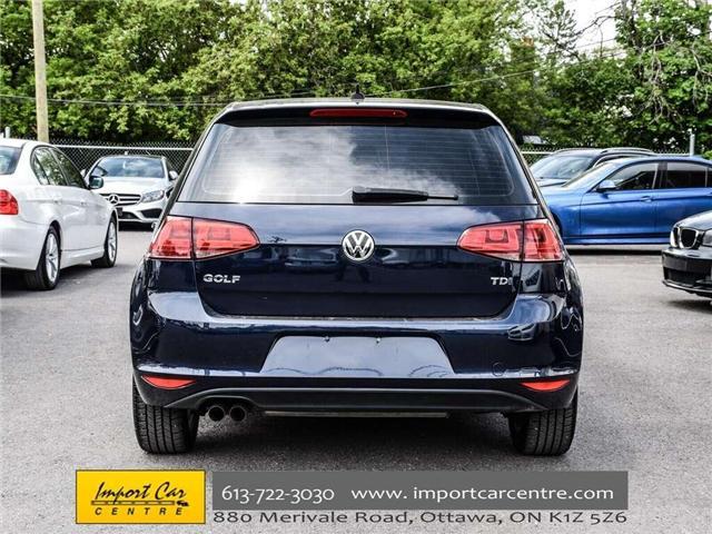 2015 Volkswagen Golf 2.0 TDI Comfortline (Stk: 041335) in Ottawa - Image 6 of 30