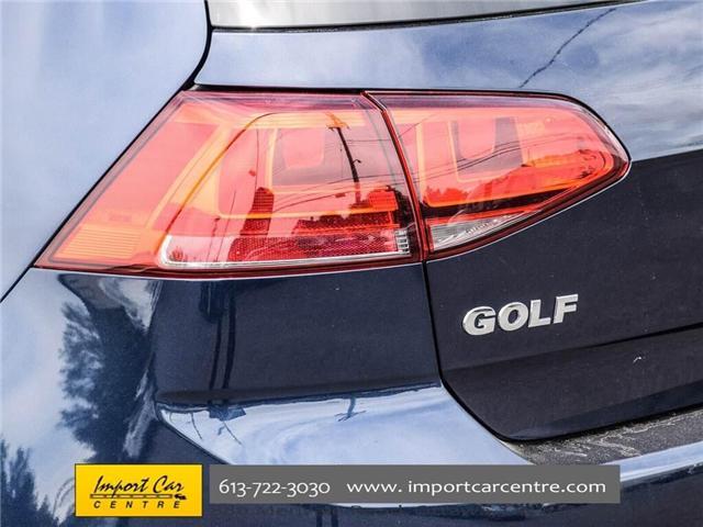 2015 Volkswagen Golf 2.0 TDI Comfortline (Stk: 041335) in Ottawa - Image 8 of 30