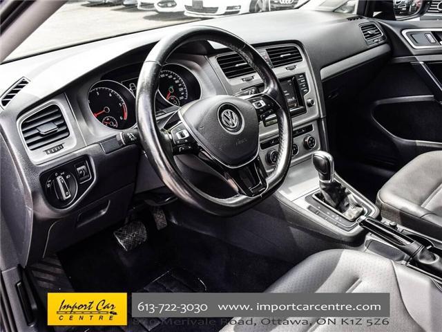 2015 Volkswagen Golf 2.0 TDI Comfortline (Stk: 041335) in Ottawa - Image 14 of 30