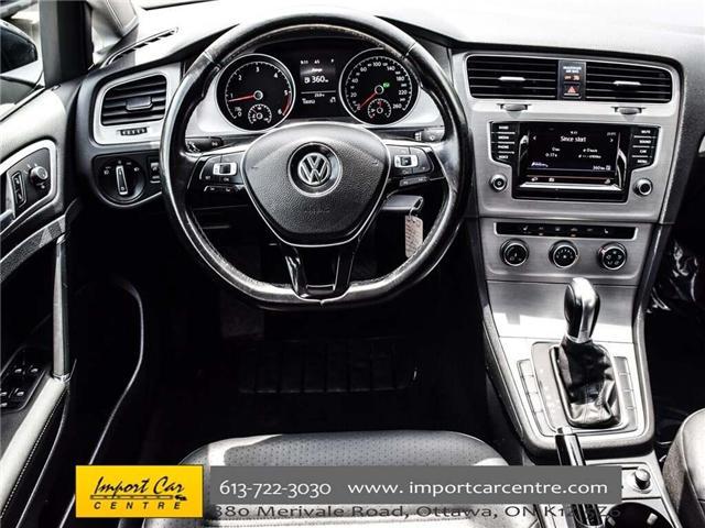 2015 Volkswagen Golf 2.0 TDI Comfortline (Stk: 041335) in Ottawa - Image 17 of 30