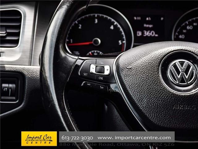 2015 Volkswagen Golf 2.0 TDI Comfortline (Stk: 041335) in Ottawa - Image 18 of 30