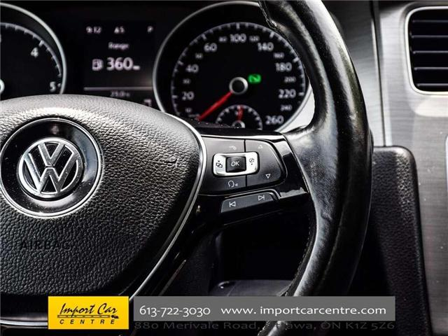 2015 Volkswagen Golf 2.0 TDI Comfortline (Stk: 041335) in Ottawa - Image 20 of 30