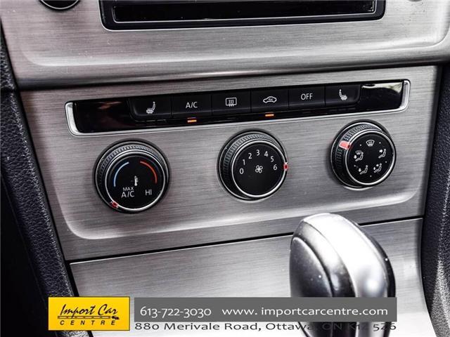 2015 Volkswagen Golf 2.0 TDI Comfortline (Stk: 041335) in Ottawa - Image 29 of 30