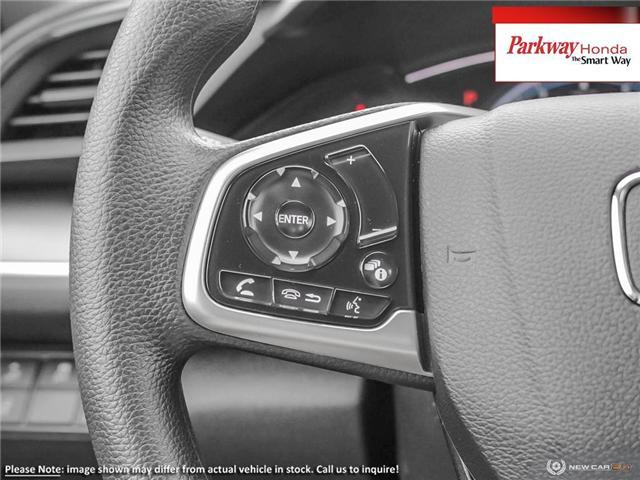 2019 Honda Civic LX (Stk: 929456) in North York - Image 15 of 23