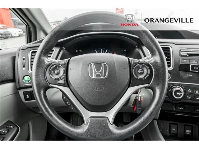 2015 Honda Civic LX (Stk: U3160) in Orangeville - Image 9 of 20