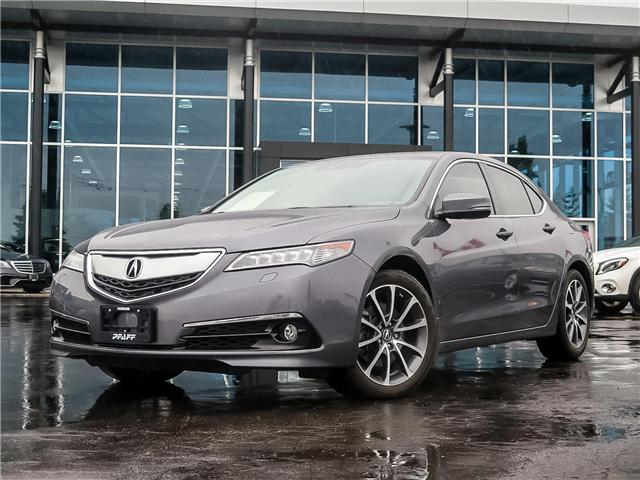2017 Acura TLX Base (Stk: 38991A) in Kitchener - Image 1 of 26