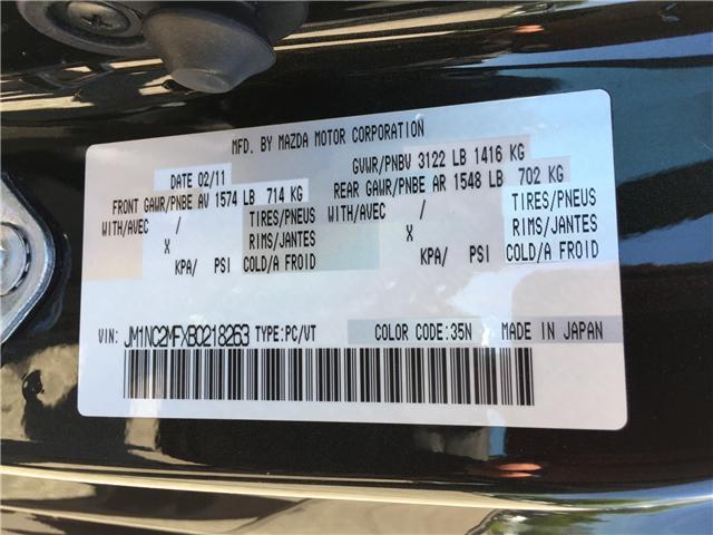 2011 Mazda MX-5 GS (Stk: UC5753) in Woodstock - Image 9 of 16