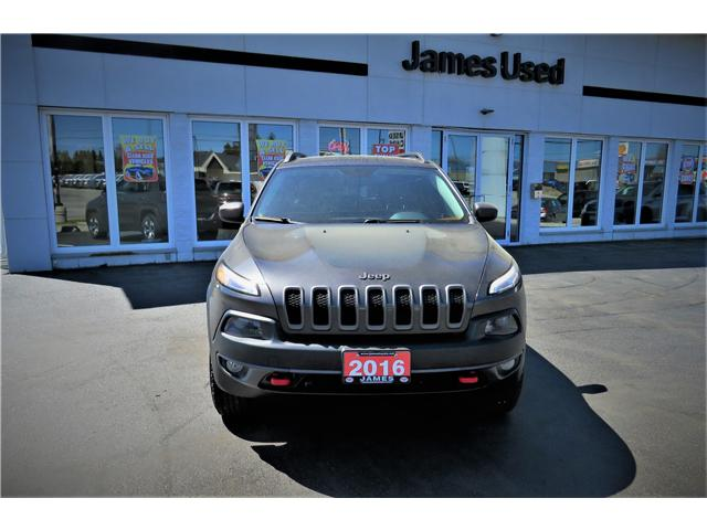 2016 Jeep Cherokee Trailhawk (Stk: N19227A) in Timmins - Image 3 of 17