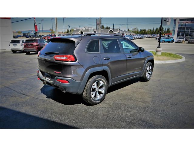 2016 Jeep Cherokee Trailhawk (Stk: N19227A) in Timmins - Image 6 of 17