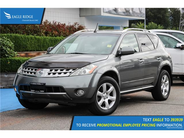 2006 Nissan Murano SE (Stk: 069129) in Coquitlam - Image 1 of 17