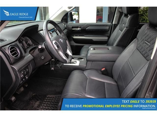 2017 Toyota Tundra Platinum 5.7L V8 (Stk: 179619) in Coquitlam - Image 17 of 18