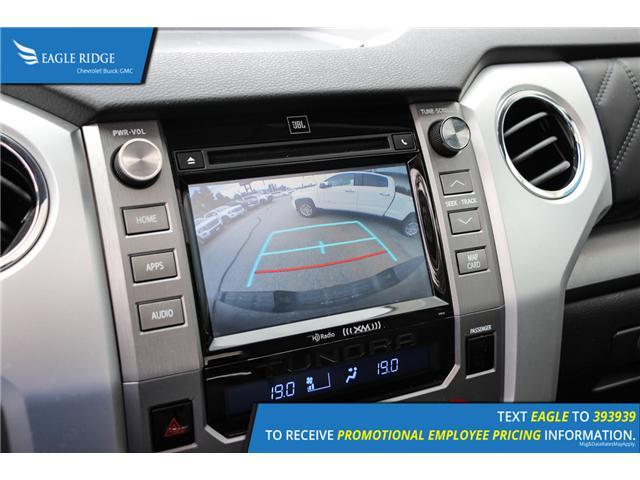 2017 Toyota Tundra Platinum 5.7L V8 (Stk: 179619) in Coquitlam - Image 14 of 18