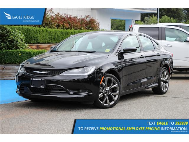 2016 Chrysler 200 S (Stk: 166064) in Coquitlam - Image 1 of 15