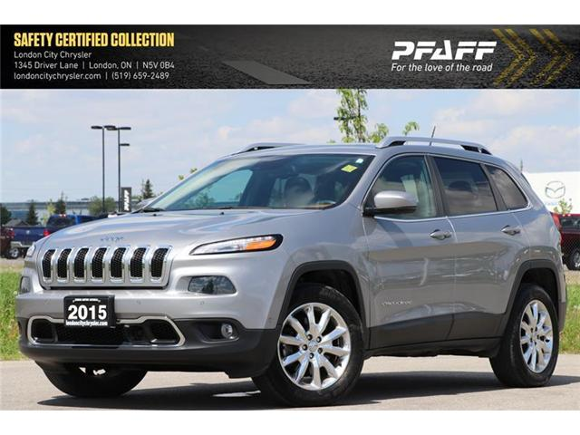2015 Jeep Cherokee Limited (Stk: LC8324A) in London - Image 1 of 21