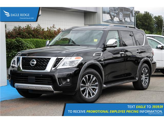 2018 Nissan Armada SL (Stk: 189267) in Coquitlam - Image 1 of 19