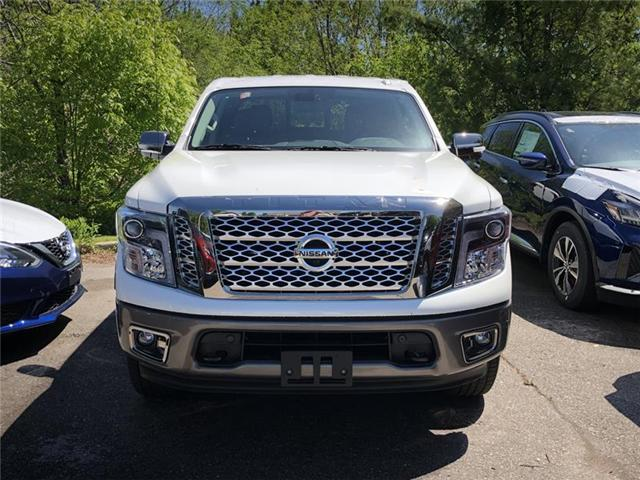 2019 Nissan Titan Platinum (Stk: RY19N002) in Richmond Hill - Image 1 of 5