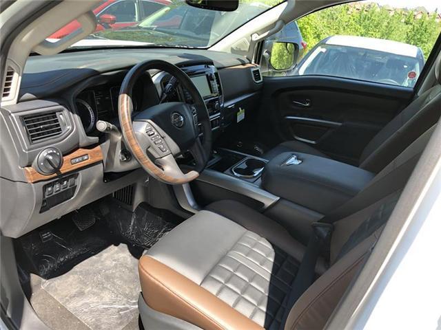2019 Nissan Titan Platinum (Stk: RY19N002) in Richmond Hill - Image 3 of 5