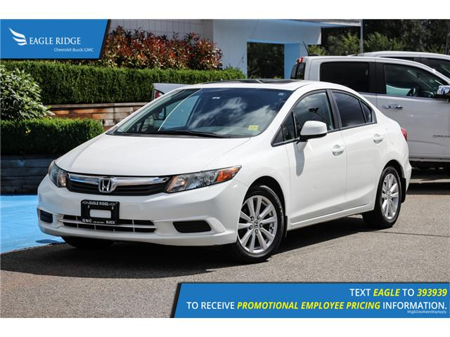 2012 Honda Civic EX-L (Stk: 126049) in Coquitlam - Image 1 of 17