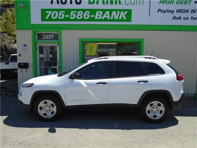 2014 Jeep Cherokee Sport (Stk: ) in Sudbury - Image 1 of 4