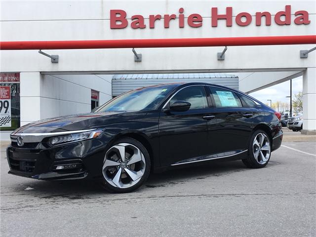 2019 Honda Accord Touring 2.0T (Stk: 191208) in Barrie - Image 1 of 12