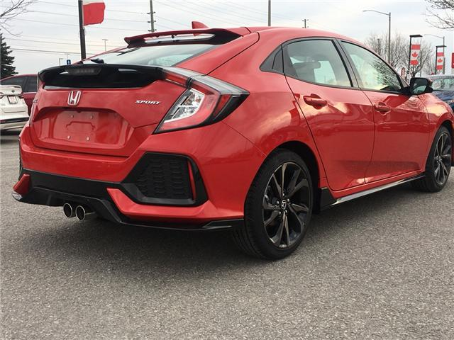 2019 Honda Civic Sport Touring (Stk: 19169A) in Barrie - Image 3 of 11