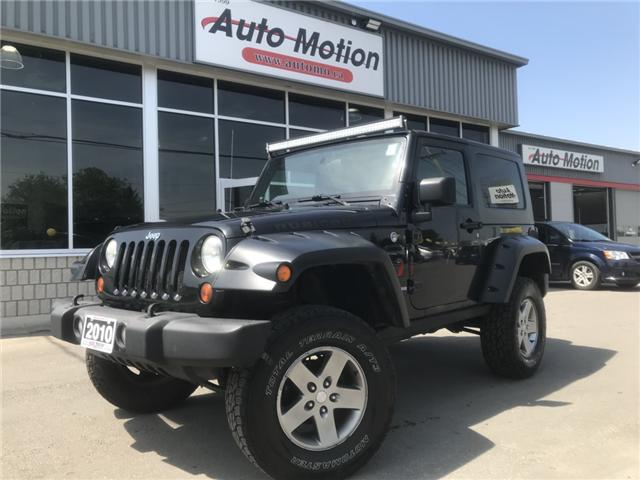 2010 Jeep Wrangler Rubicon (Stk: 19644) in Chatham - Image 1 of 8