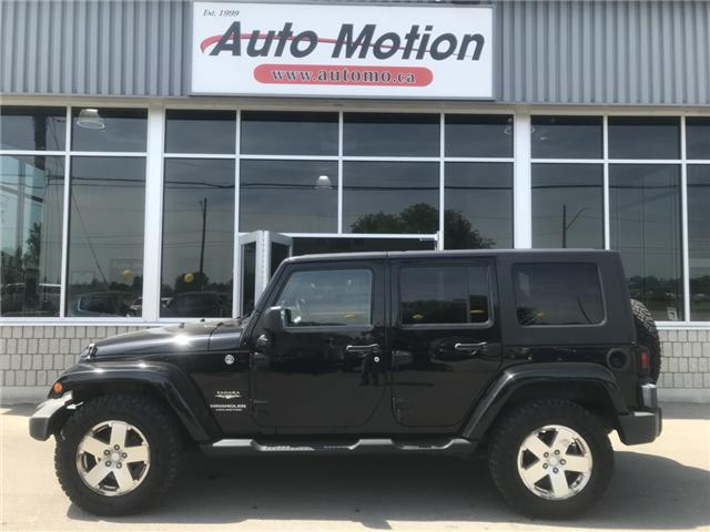 2008 Jeep Wrangler Unlimited Sahara (Stk: 19556) in Chatham - Image 2 of 7