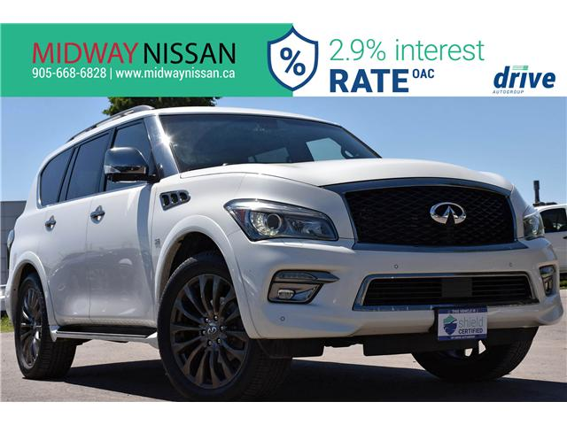2015 Infiniti QX80 Limited 7 Passenger (Stk: U1720) in Whitby - Image 1 of 35