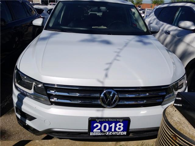 2018 Volkswagen Tiguan Trendline (Stk: OP10229) in Mississauga - Image 2 of 16