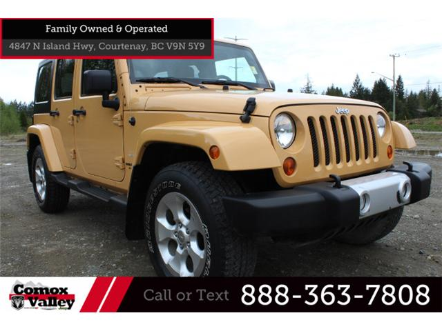 2013 Jeep Wrangler Unlimited Sahara (Stk: L622674) in Courtenay - Image 1 of 24