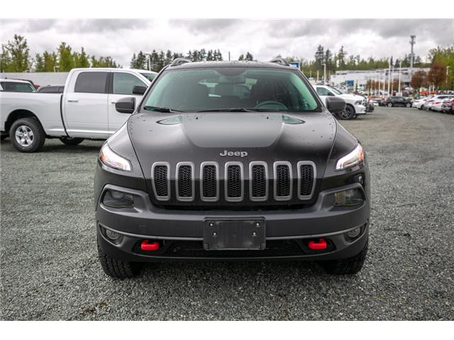 2017 Jeep Cherokee Trailhawk (Stk: K719070A) in Abbotsford - Image 2 of 25