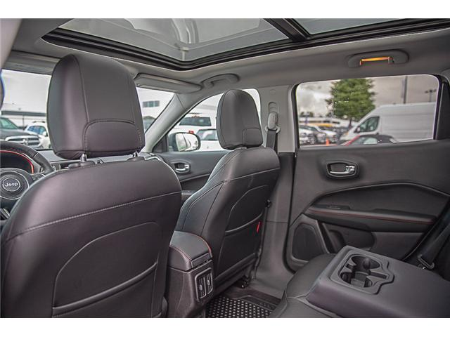 2018 Jeep Compass Trailhawk (Stk: EE909350) in Surrey - Image 11 of 28